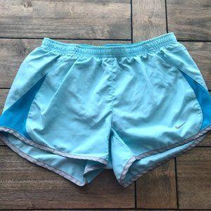 New Light Blue & Grey Women's Nike Shorts Size XS